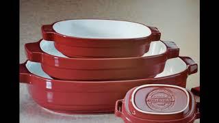 Nesting Ceramic Bakeware Set by KitchenAid  D8717728