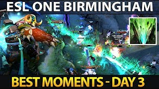 Best Moments ESL One Birmingham 2018 - Day 3 Dota 2