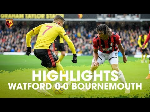 HIGHLIGHTS | WATFORD 0-0 AFC BOURNEMOUTH