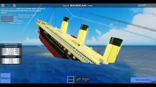 Roblox Titanic Il film parte 2