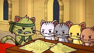 Ударный отряд КОТЯТ из STEAM 1 серия Мультик ИГРА Strike Force Kitty