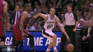 Manu Ginobili Offense Highlights 2013/2014