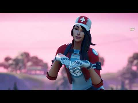 *NEW & HOT* REMEDY SKIN SHOWS HER PERFECT BACK ON THE NEW MAP 😍❤️ Fortnite Chapter 2