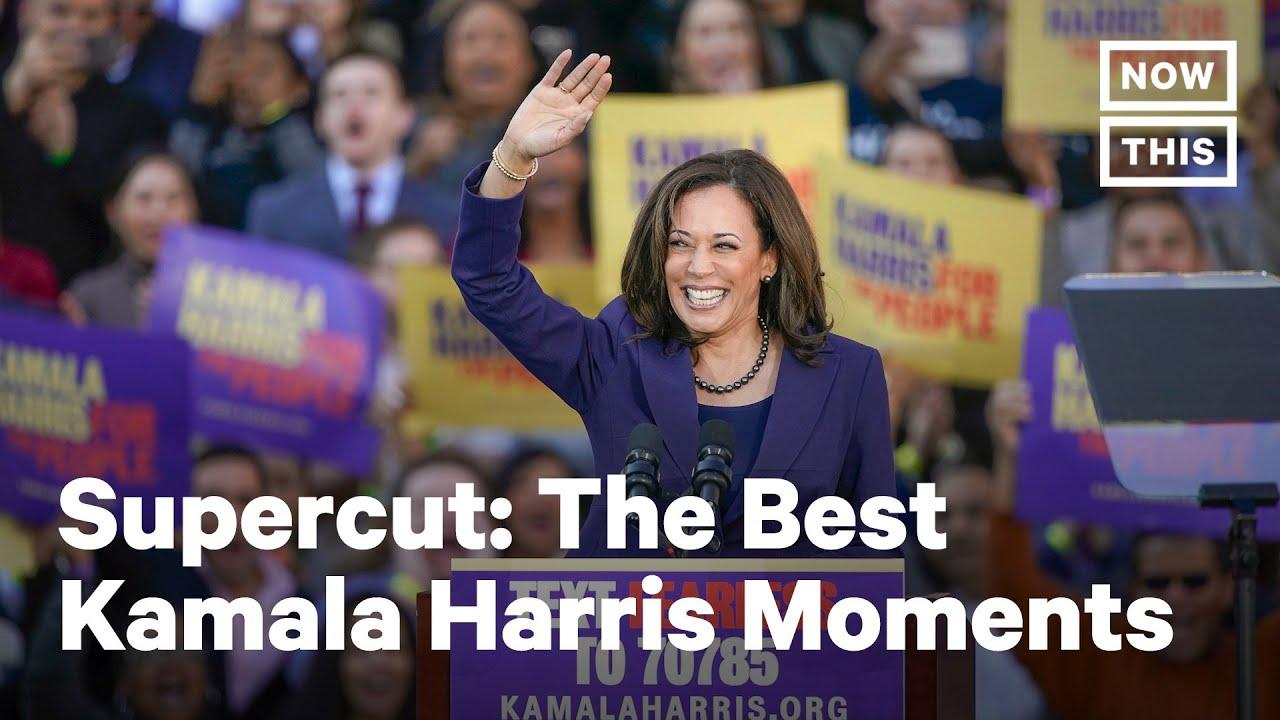 Kamala Harris Greatest Moments Nowthis Youtube
