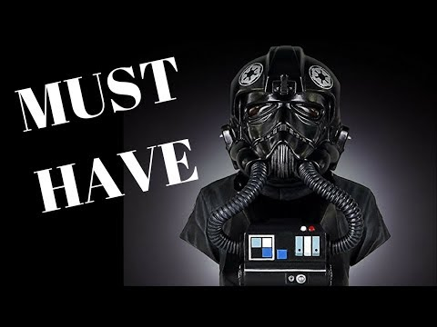 Star Wars Tie fighter pilot bust collector edition