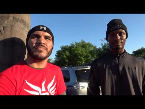 Ray Beltran & Kenneth Sims Jr on mayweather vs pacquiao - EsNews