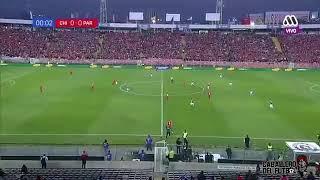Relator chileno super enojado. Chile 0 paraguay 3.   31-08-17