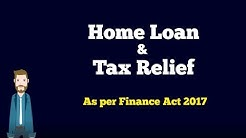 Tax  Deduction on Home Loan under Income Tax Act