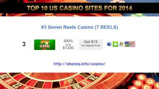 Top 10 US Casino Sites for 2014(Top 10 US Casino Sites for 2014 - You will not find a better collection of US player friendly online casinos that those we have listed below for you, they all offer ..., 2014-08-13T23:19:15.000Z)