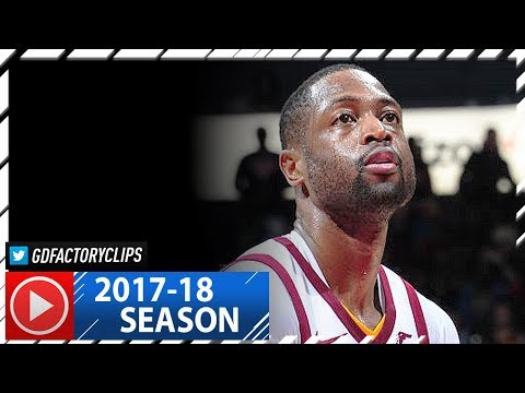 Dwyane Wade Full Highlights vs Hawks (2017.11.30) - 19 Pts off the Bench!