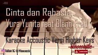 Yura Yunita feat Glenn Fredly - Cinta dan Rahasia Karaoke Akustik