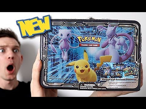 *NEW* 2019 Mewtwo & Pikachu Collector Chest Opening