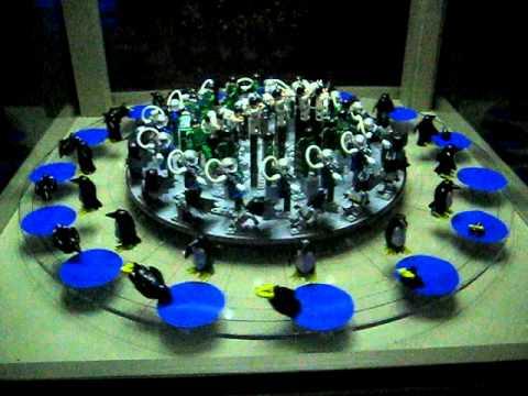Maker Faire 2011 - Lego Zoetrope