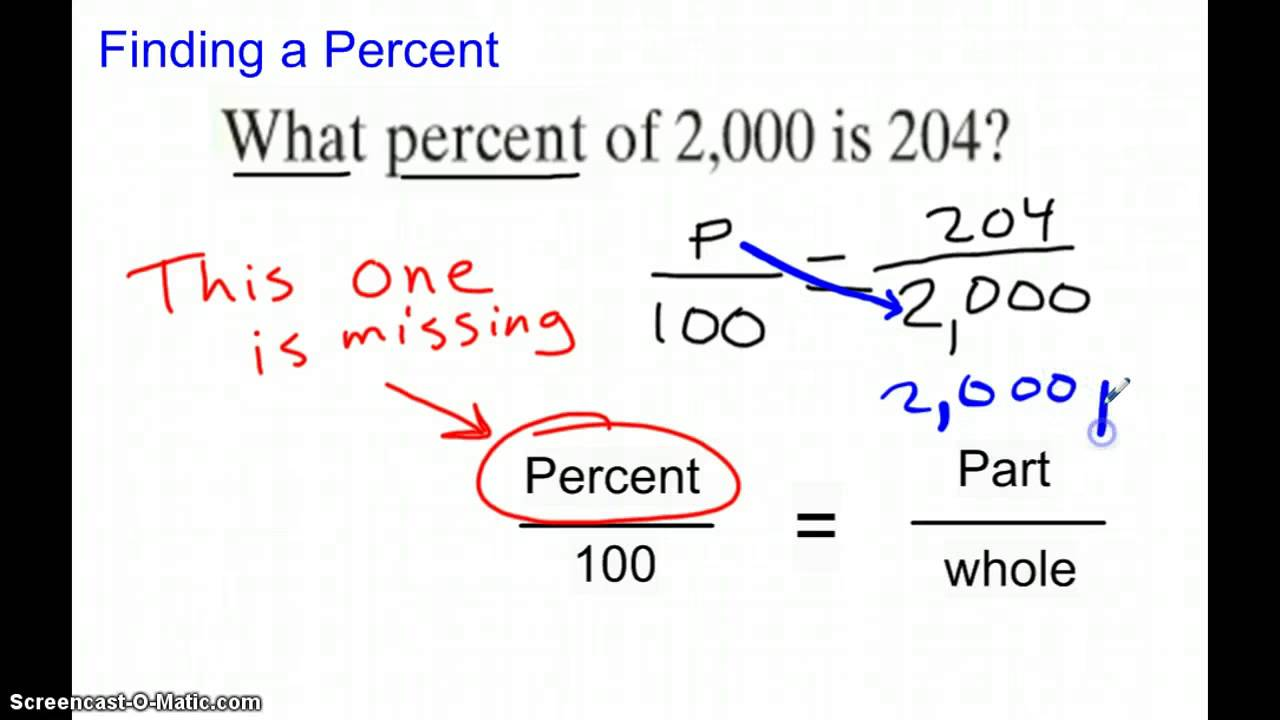 7th Grade Math TBMS 6-4 Percent Problems with Proportions - YouTube [ 720 x 1280 Pixel ]