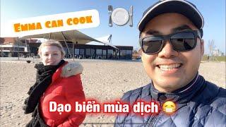 #36: Đi dạo biển mùa dịch  Dâu Tây nấu ăn