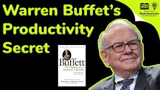 Скачать Warren Buffet S Productivity Secret Revealed