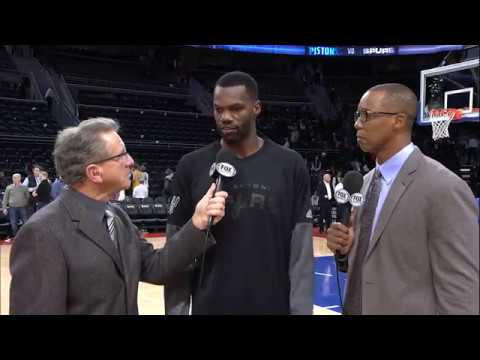 """Are your legs getting tired from dunking?"" Postgame Interview: Dewayne Dedmon"
