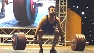 Kianoush Rostami — 220 kg Clean & Jerk (World Record)