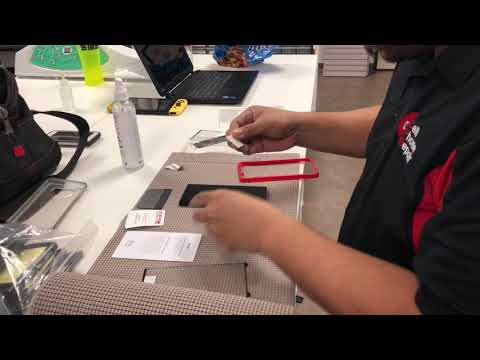 Zagg Glass Curve Elite Installation Samsung Note 9
