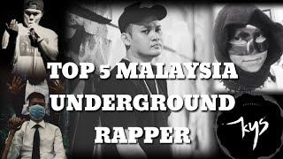 Top 5 Malaysia Underground Rapper