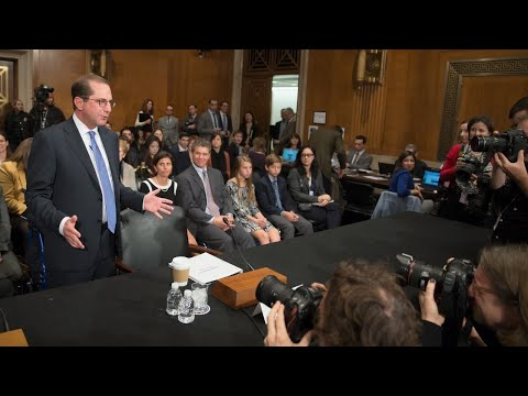 Alex Azar testifies before Senate HELP committee