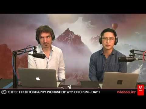 Street Photography Workshop with Eric Kim 1/2 - live on twitch.tv/adobe