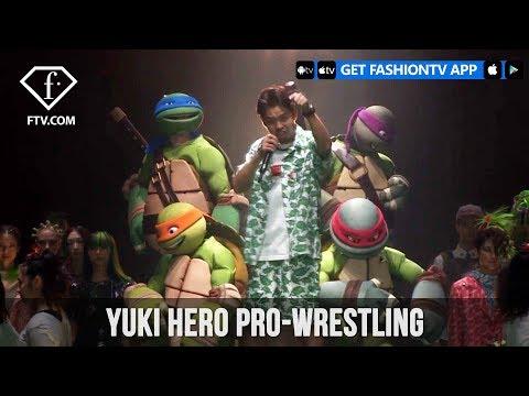 Tokyo Fashion Week Spring/Summer 2018 - Yuki Hero Pro-Wrestling | FashionTV