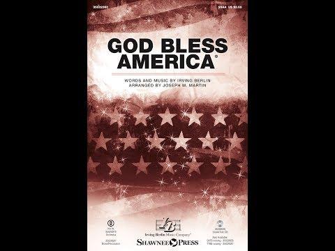 GOD BLESS AMERICA® (SSAA) - Irving Berlin/arr. Joseph M. Martin
