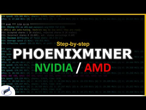 How To Use Phoenixminer | Step-by-step Guide