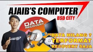 Recovery Data Harddisk, USBFlash, Memory Card, DVD/CD ROM di Ajaibs Computer BSD City