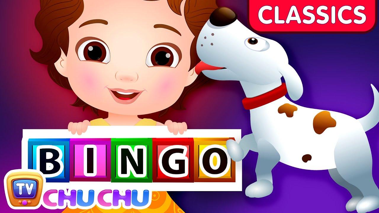 ChuChu TV Classics - Bingo Dog Song | Nursery Rhymes and Kids Songs