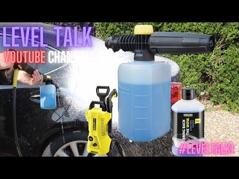 Karcher Snow Foam Cannon – Review USING - Karcher Snow/Ultra Foam - Karcher K2 Pressure Washer