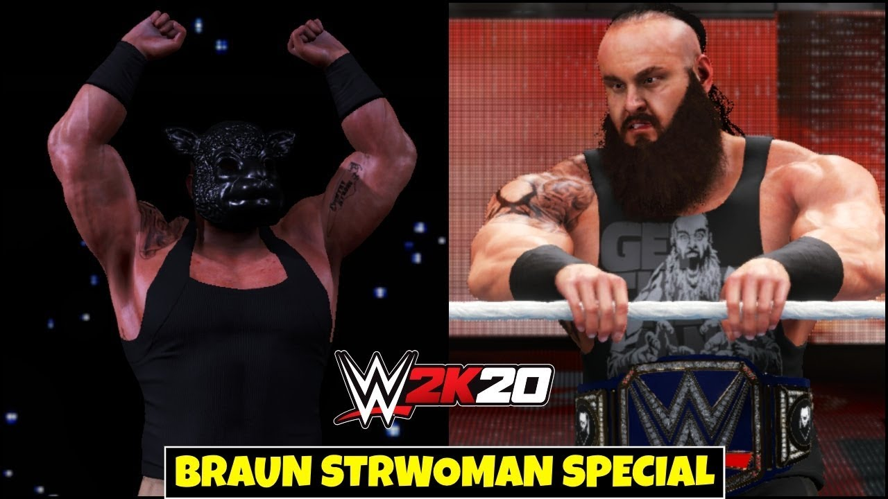 WWE 2K20 'MONSTER AMONG MEN' Special Gameplay | FAIL GAME LIVE 2K20 THEME GAMEPLAY !