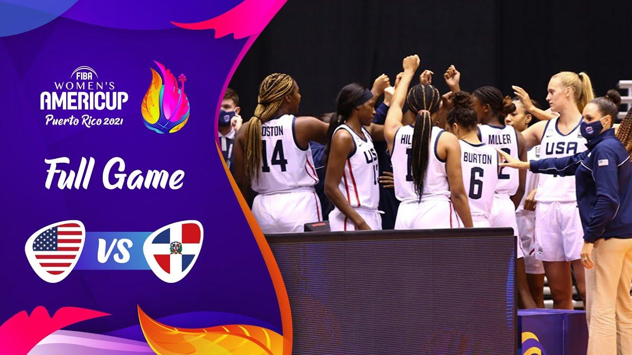 USA v Dominican Republic | Full Game - FIBA Women's AmeriCup 2021