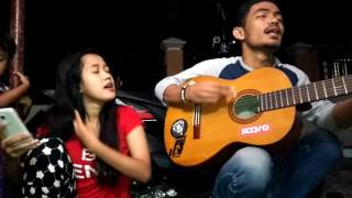 Egois cover bang taufik ft neng iin