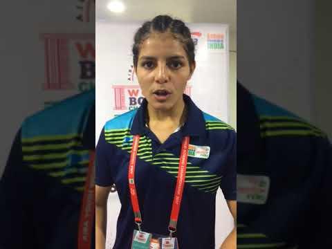 India boxer Sakshi Choudhary speaking to The News Mill