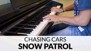 Snow Patrol - Chasing Cars (HQ Piano Cover)