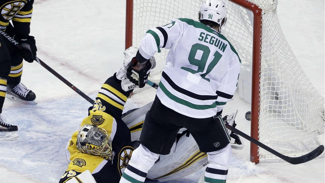 Anton Khudobin pulled after rocky Game 3 for Dallas Stars