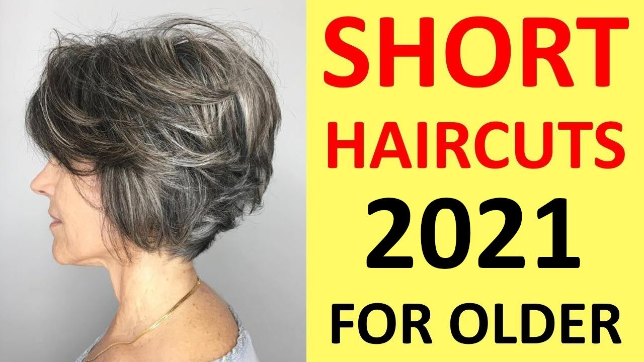Spring Short Haircuts For Women Over 40 50 60 70 Youtube