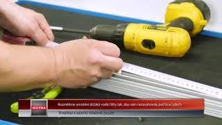 Venkovní žaluzie - vyměření a montáž