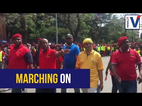 WATCH: EFF march to Union Buildings