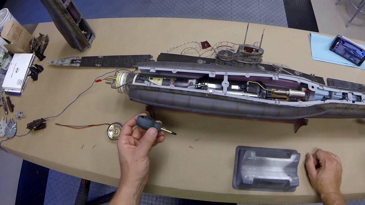 Build Model U Boat