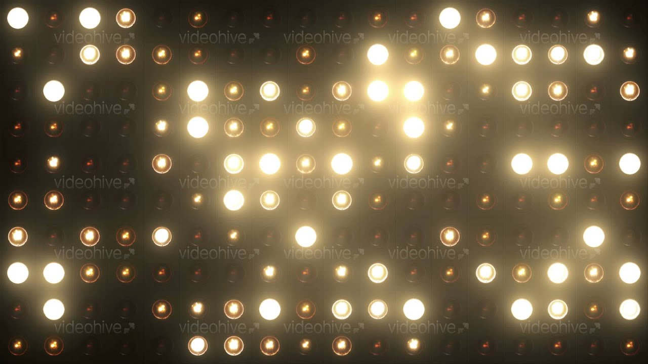 Vj Flashing Lights Spotlight Stage Wall Of 4k Ultra Hd Motion Graphic Footage Background