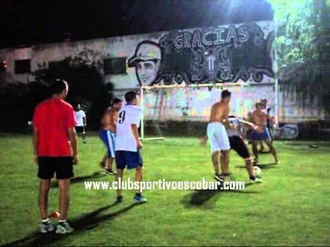 Entrada en calor Primera División Futbol