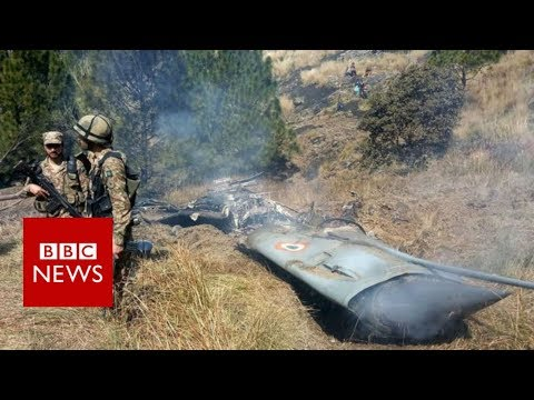 Pakistan &39;shoots down two Indian jets&39; over Kashmir - BBC News