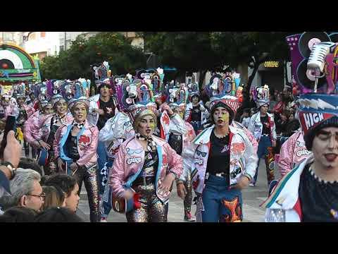 Desfile De Carnaval De Badajoz.Los Colegas.23-2-2020.