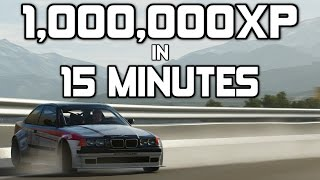 Forza Horizon 3 - 1,000,000XP in 15 Minutes - FASTEST WAY TO LEVEL UP!!!