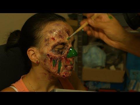 Make a zombie - Part 1 - Zombie makeup tutorial