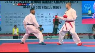 52ND EKF SENIOR CHAMPIONSHIPS - FINAL MALE KUMITE -75 KG