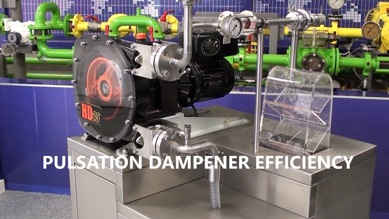 Abaque Pulsation Dampener Efficiency Video